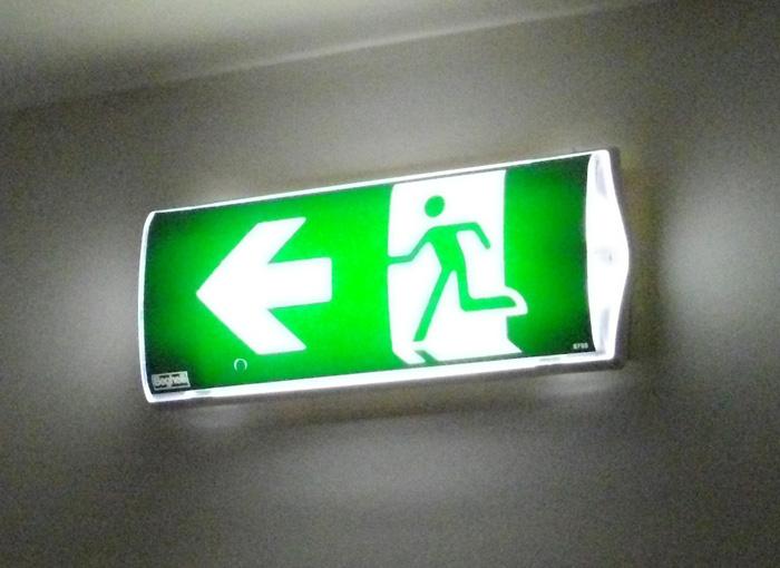Impianto di illuminazione di emergenza happycinzia